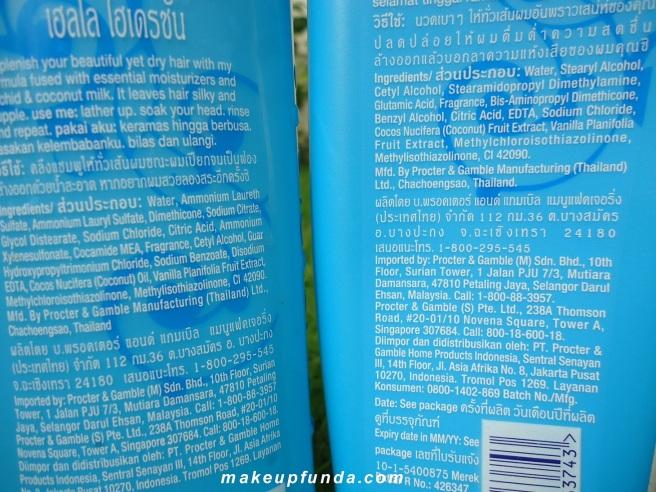 Herbal Essences Hello Hydration Shampoo Conditioner