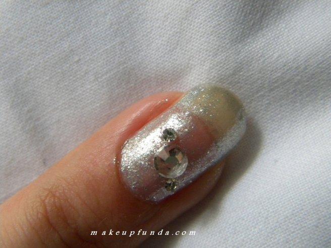 Nail Art Sparking Silver
