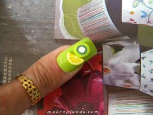 Nail Art Fruit Delight