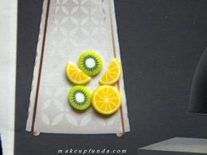 Nail Art Fruit Pieces