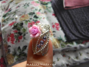 Nail Art Wedding Bliss