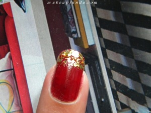 Nail Art with Pictures Party Red