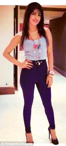 Priyanka Chopra in Fringe Hairstyle