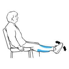 Leg and Toe Stretch